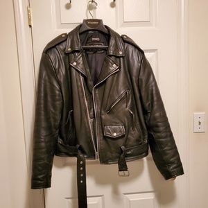 Wilson's Men's Biker Leather